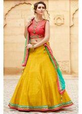 Yellow Colour New Fancy Designer Lehenga Choli for Girls & Women