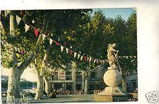 34 - cpsm - AGDE - La place de la Marine - Statue d'Amphitrite ( i 1384)
