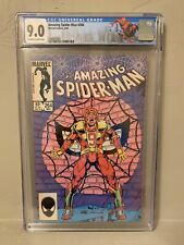 Amazing Spider-Man #264 CGC 9.0 1st Red Nine Limited NY Label