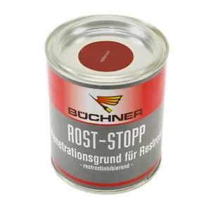 Büchner Erbedol Rost-Stop Grundierung Rostschutz rotbraun 750 ml 18,47€/L