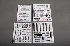 DJI Phantom 3 Standard White/Black Sticker Combo Set ID Marking Decal