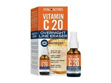 Vital Actives Vitamin C 20 Overnight Line Eraser Face Serum 1 fl. oz