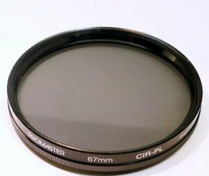 Promaster 67mm  Filter Cir-PL C-PL Circular polarizer made in Philippines