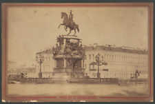 """St. Petersburg """"Denkmal des Kaiser´s Nicolaus I."""" Foto: Felisch"""
