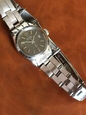 Ladies Vintage Rare Grey Dial Rolex Tudor Princess Oysterdate Oyster Band Lixury