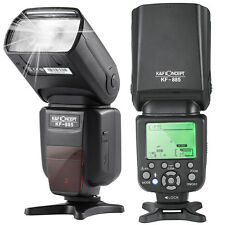 K&F Concept KF-885 Flash Speedlite GN58+i-TTL+Master+1/8000 HSS for Nikon Canon