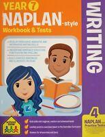 School Zone Year 7 Naplan Style Writing Workbook and Tests School study help