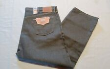 Levi's  Mens  501 Jeans  Big&Tall  Shrink-To-Fit  Button-Fly  Gray  48x30 NWT$84