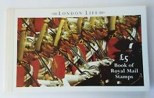 Gb 1990 Sgdx11 £5.00 London Life Booklet U/M