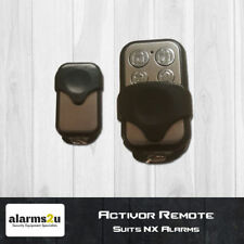 3 x Activor Alarm Remotes GENUINE Suits NX Alarm Panels Hills RTI01 Bundle Pack