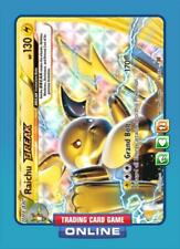 Raichu BREAK 50/162 for Pokemon TCG Online (PTCGO, Digital Card)