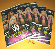 WWE TOPPS Womens Division 5 CARD pack Becky Lynch Ronda Rousey Alexa Boss Baley