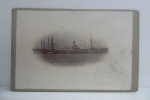 MILITARY NAVY OLD SHIP PHOTOGRAPH