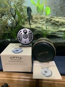 *NEW UNUSED* Orvis Battenkill BBS 3 Bar Stock Fly Reel 3-6WT