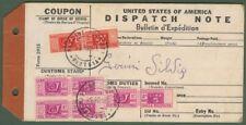 Bollettino di pacco del 11.10.1951 con franc. pacchi
