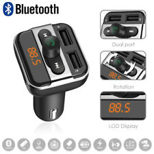 KFZ Bluetooth FM Transmitter Bluetooth Auto Radio Musik MP3 Player 2 USB Adapter