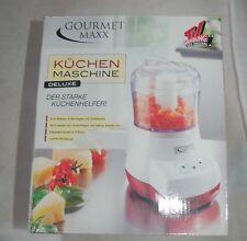Gourmet Maxx Küchenmaschine Weihnachtsbäckerei Mahlen Rühren Aufschlagen
