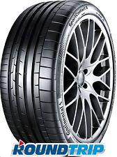 4x Continental Sport Contact 6 225/35 ZR20 90Y XL, FR