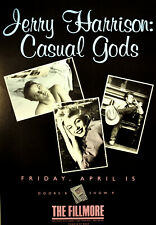 Jerry Harrison: Casual Gods 1988 Concert Poster