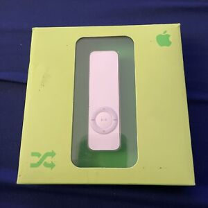 Apple iPod shuffle 1st Generation White (1 GB) SEALED New In Box M9725LL/A