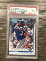 2019 Topps VLADIMIR GUERRERO Jr Missing Card Number NNO SP PSA 9 Mint RC