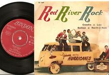 JOHNNY & THE HURRICANES RED RIVER ROCK EP SWEDISH 45+PS 1959 ROCK ROLL BEAT R&B
