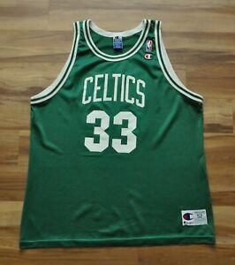 LARRY BIRD BOSTON CELTICS CHAMPION JERSEY GREEN NBA MEN 52 2XL