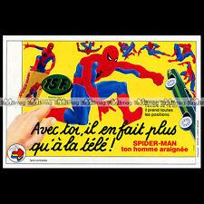 SPIDER MAN Flexy Poupée Mannequin ORLI Jouet 1979 - Pub / Publicité / Ad #B520