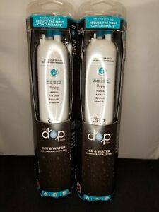 Two Brand New in Box Genuine EveryDrop Refrigerator Water Filter #3 EDR3RXD1 A1