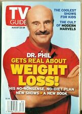 TV GUIDE- 2003- DR PHIL McGRAW COVER +THE CULT OF MODERN MARVELS +SHOWS FOR KIDS