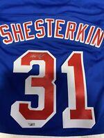 Igor Shesterkin Autographed Jersey New York Rangers