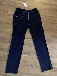 Figs Navy Kochi Skinny Scrub Pants Xs