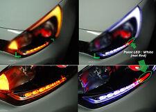 LED 2way Head Light Eye Line DIY Kit Module LH RH for 2012 2014 Kia Rio 5DR