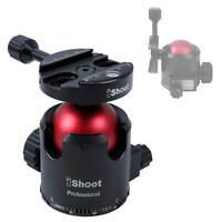 iShoot FB52JZ64 Arca Camera Video Tripod Ball Head for Tripods, Monopod, Slider