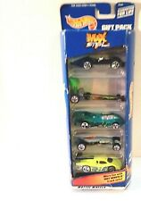 Hot Wheels 1999 Max Steel Gift Pack 5 Vehicles Item #25366 New in Box