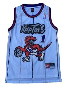 Vintage NIKE Stitched TORONTO RAPTORS Tracy McGrady NBA Basketball Jersey SMALL