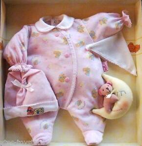 Orig. Zapf >>> Little Chou Chou 4tlg. Puppen Schlaf-Set mit Mond <<< 42 cm