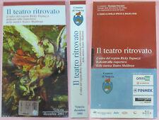 VHS film IL TEATRO RITROVATO Ricky Tognazzi VENEZIA sigillata (F160) no dvd