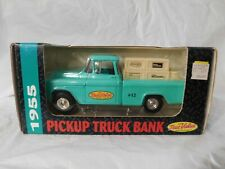 NIB NOS 1955 truck diecast bank Ertl vintage vehicle toy collectible estate old