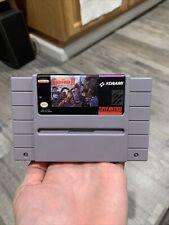 Rare! Super Castlevania IV SNES Authentic Tested! Vintage Original Nintendo