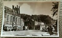 BEDFORD SQUARE TAVISTOCK VINTAGE POSTCARD OLD REAL PHOTOGRAPH CARD UNPOSTED