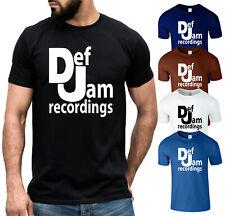Def Jam Recordings T Shirt Vintage Rap 80s Beastie Boys Music Festival Mens Tee
