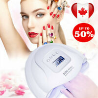 80W LED Nail Lamp for Manicure Nail Dryer LED Lamp For Curing UV Gel Nail Polish