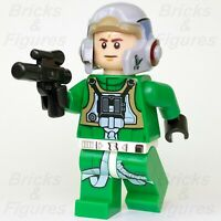 New Star Wars LEGO® Rebel A-Wing Pilot Fighter Minifigure 75175 75247 Genuine