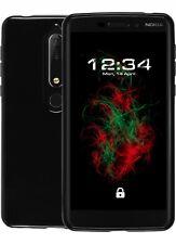 Coque Piano Noir pour Nokia 6 (2018) étui de protection téléphone portable