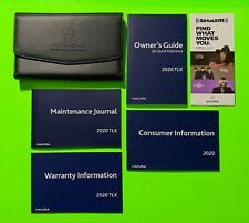 New listing 2020 Acura Tlx Factory Owners Manual Guide Set & Case *Oem*