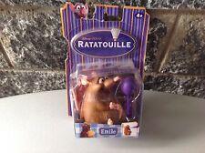 "Vintage#Disney Ratatouille 4"" Emile Rat Action Figure Sealed In Package#Moc"