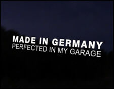 Made in Germany Car Vinyl Decal BMW Mini VW Mercedes Porsche Audi