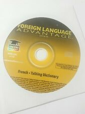 Foreign Language Advantage French Talking Dictionary Scratch Free Disc