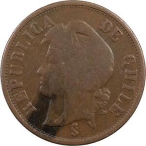 CHILE - 2 CENTAVOS - 1890